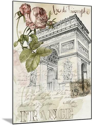 Paris Sketchbook II-Jennifer Paxton Parker-Mounted Art Print