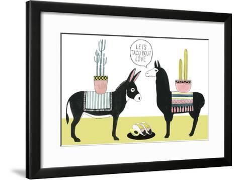 Let's Taco Bout Love I-Grace Popp-Framed Art Print