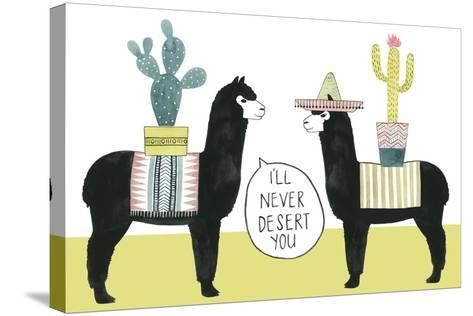 Let's Taco Bout Love II-Grace Popp-Stretched Canvas Print