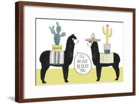 Let's Taco Bout Love II-Grace Popp-Framed Art Print