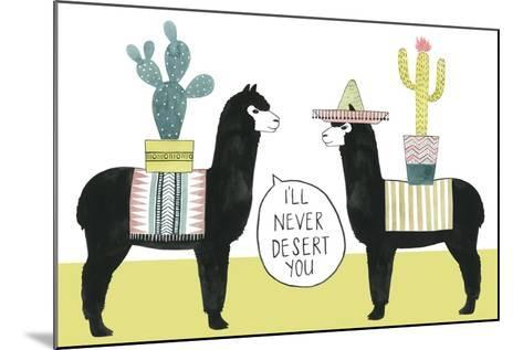 Let's Taco Bout Love II-Grace Popp-Mounted Premium Giclee Print
