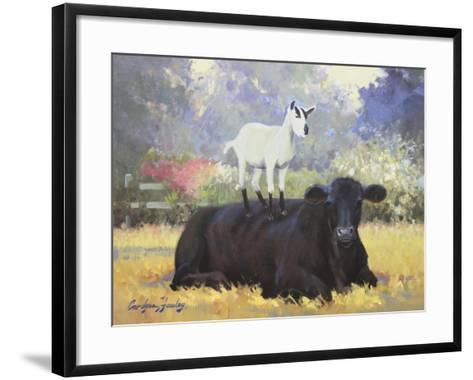 Farm Pals V-Carolyne Hawley-Framed Art Print