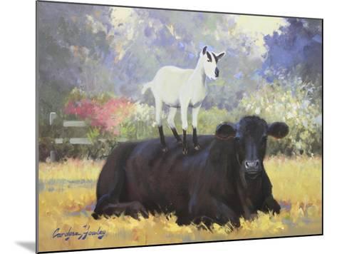Farm Pals V-Carolyne Hawley-Mounted Art Print