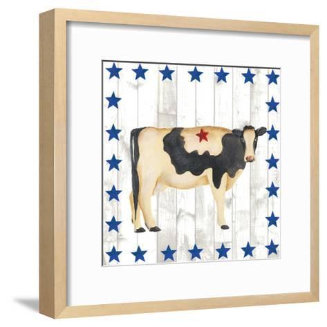 Americana Animals III-Regina Moore-Framed Art Print