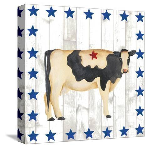 Americana Animals III-Regina Moore-Stretched Canvas Print