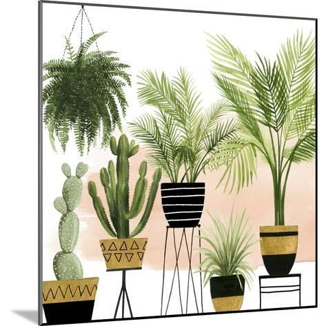 Indoor Oasis II-Grace Popp-Mounted Art Print