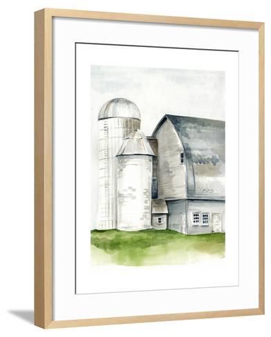 Watercolor Barn II-Jennifer Paxton Parker-Framed Art Print