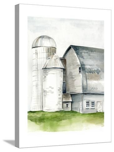 Watercolor Barn II-Jennifer Paxton Parker-Stretched Canvas Print