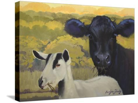 Farm Pals IV-Carolyne Hawley-Stretched Canvas Print