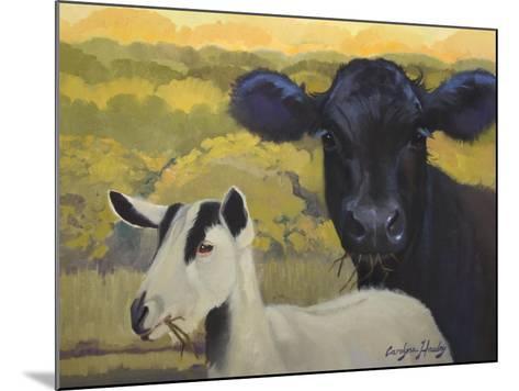 Farm Pals IV-Carolyne Hawley-Mounted Art Print