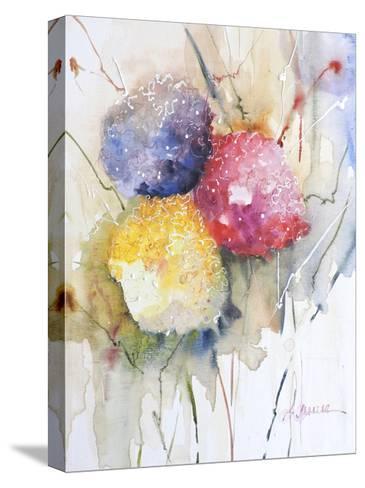 Hortenzzia II-Leticia Herrera-Stretched Canvas Print