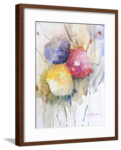 Hortenzzia II-Leticia Herrera-Framed Art Print