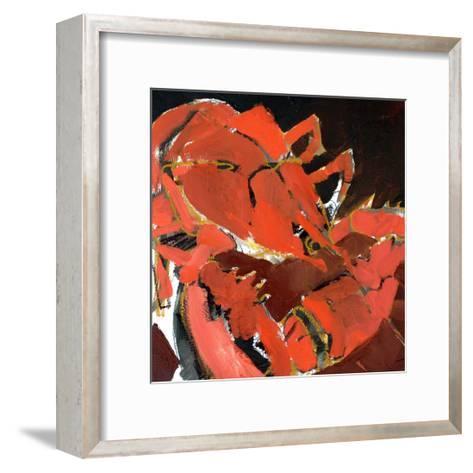 Abstract Lobster V-Erin McGee Ferrell-Framed Art Print