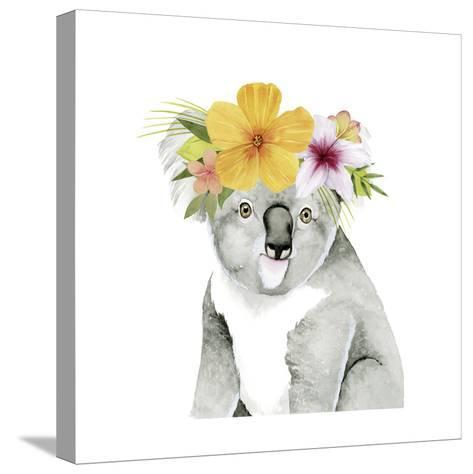 Tropical Halo VII-Grace Popp-Stretched Canvas Print