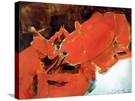 Abstract Lobster II-Erin McGee Ferrell-Stretched Canvas Print