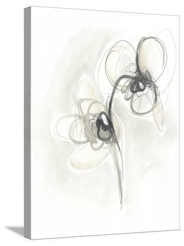 Neutral Floral Gesture I-June Erica Vess-Stretched Canvas Print