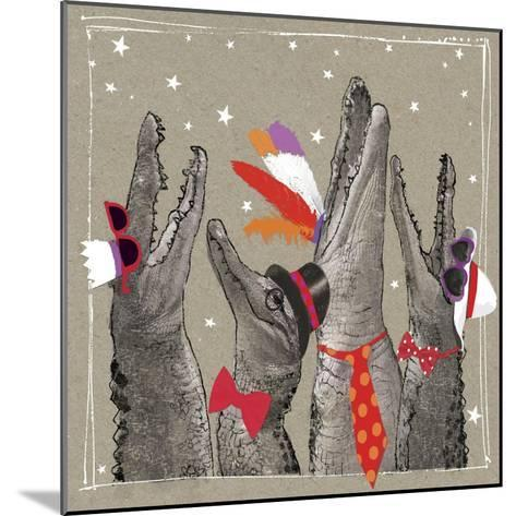 Fancy Pants Zoo VI-Hammond Gower-Mounted Art Print