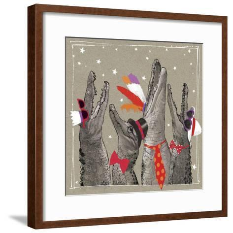 Fancy Pants Zoo VI-Hammond Gower-Framed Art Print