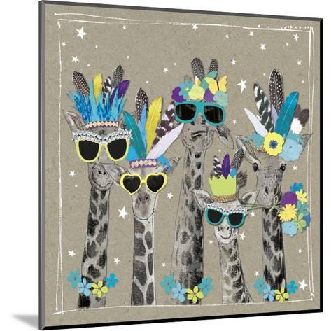 Fancy Pants Zoo IV-Hammond Gower-Mounted Art Print