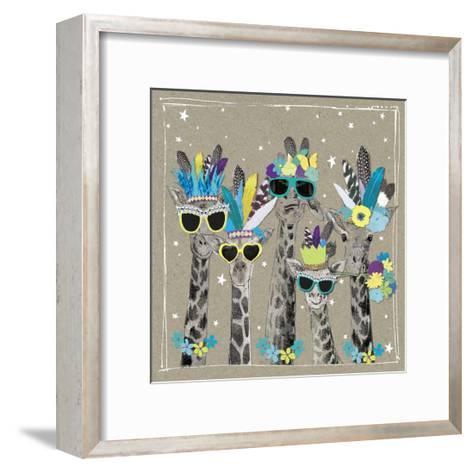 Fancy Pants Zoo IV-Hammond Gower-Framed Art Print