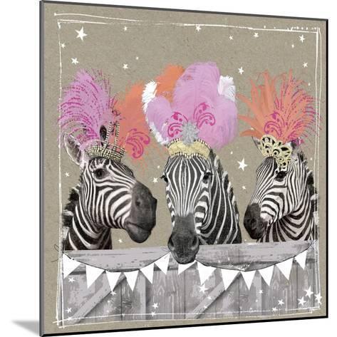 Fancy Pants Zoo II-Hammond Gower-Mounted Art Print