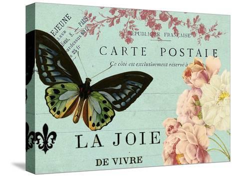 Postcards of Paris IV-Sandy Lloyd-Stretched Canvas Print