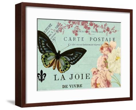 Postcards of Paris IV-Sandy Lloyd-Framed Art Print
