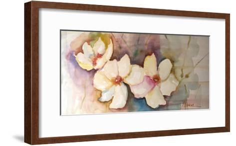 Horizontal Flores VII-Leticia Herrera-Framed Art Print