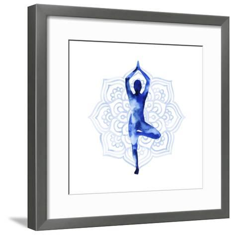Yoga Flow III-Grace Popp-Framed Art Print