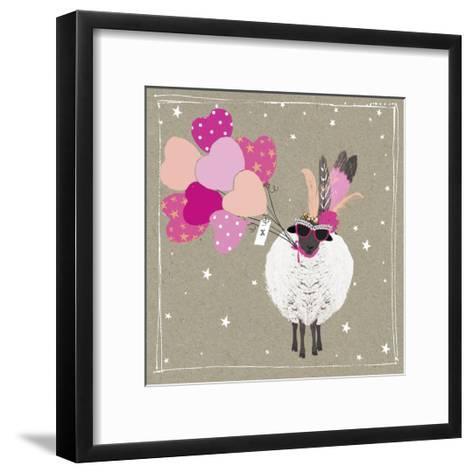Fancy Pants Farm III-Hammond Gower-Framed Art Print