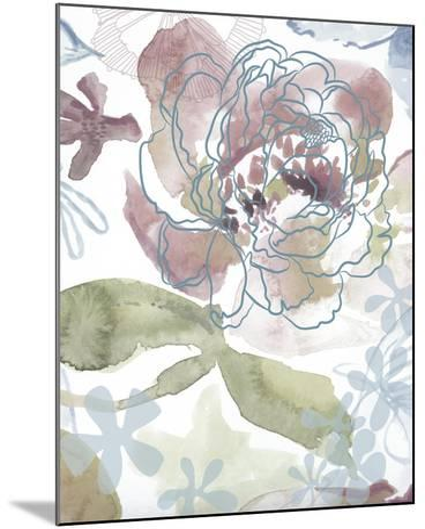 Bouquet of Dreams IV-Delores Naskrent-Mounted Art Print