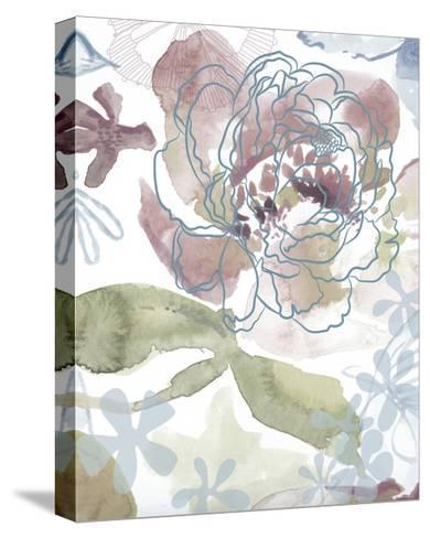 Bouquet of Dreams IV-Delores Naskrent-Stretched Canvas Print