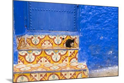 North Africa, Morocco, Traiditoional Moroccan architecture of Chefchaouen.-Emily Wilson-Mounted Photographic Print