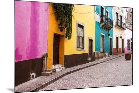 Mexico, Guanajuato, Quiet Street in Guanajuato-Hollice Looney-Mounted Photographic Print
