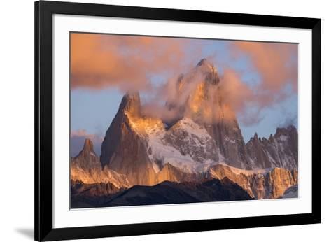 Argentina, Patagonia, Fitz Roy-George Theodore-Framed Art Print