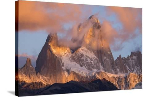Argentina, Patagonia, Fitz Roy-George Theodore-Stretched Canvas Print