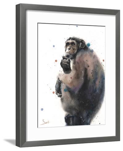 Chimpanzee-Eric Sweet-Framed Art Print