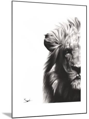 Lion II-Eric Sweet-Mounted Art Print