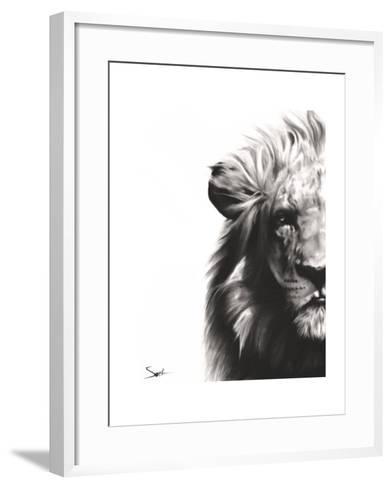 Lion II-Eric Sweet-Framed Art Print
