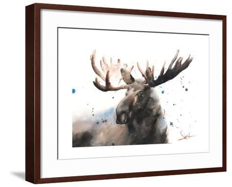 Moose Framed Art Print by Eric Sweet | Art.com