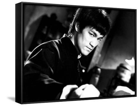 """Bruce Lee. """"The Chinese Connection"""" [1972] (Jing Wu Men), Directed by Wei Lo.--Framed Canvas Print"""