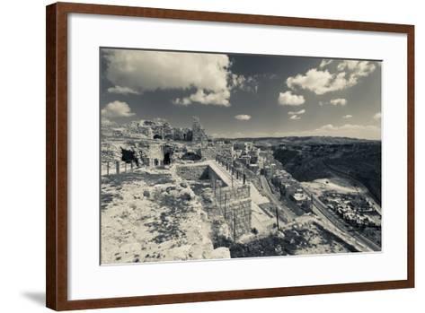 Karak Crusader Castle, Karak, Kings Highway, Jordan--Framed Art Print