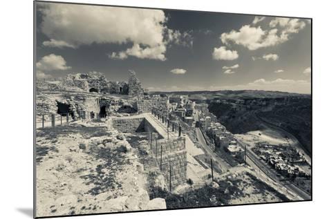 Karak Crusader Castle, Karak, Kings Highway, Jordan--Mounted Photographic Print