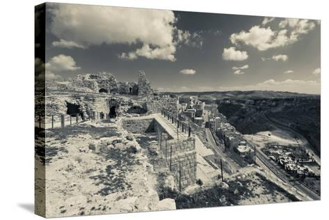 Karak Crusader Castle, Karak, Kings Highway, Jordan--Stretched Canvas Print
