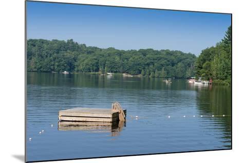 View of the Lake Muskoka, Ontario, Canada--Mounted Photographic Print