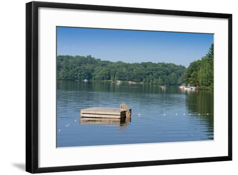 View of the Lake Muskoka, Ontario, Canada--Framed Art Print