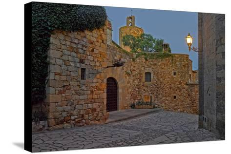 Medieval town of Pals in Costa Brava, Girona Province, Catalonia, Spain--Stretched Canvas Print