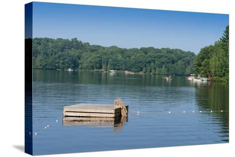 View of the Lake Muskoka, Ontario, Canada--Stretched Canvas Print