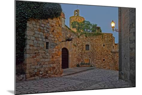 Medieval town of Pals in Costa Brava, Girona Province, Catalonia, Spain--Mounted Photographic Print