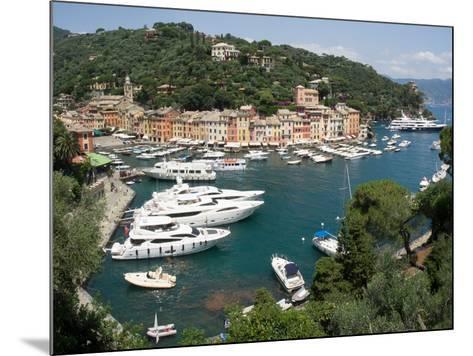Elevated view of the Portofino, Liguria, Italy--Mounted Photographic Print